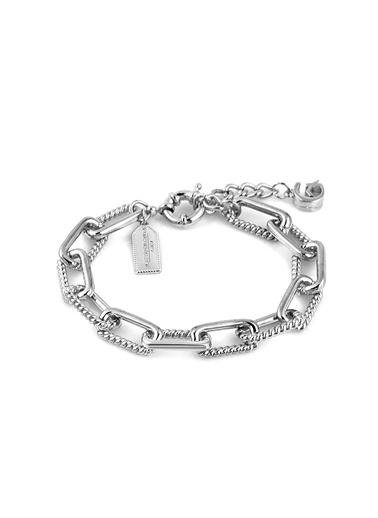 Alberto Guardiani Alberto Guardiani Ag10374Blk Jewelery Bileklik Gümüş